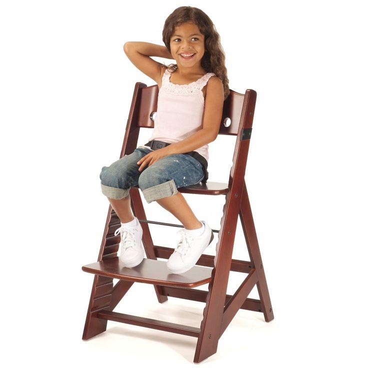 Chaise-haute Coul. Noyer ( accessoires vendus séparément)
