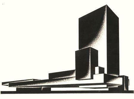 Iakov Chernikhov – Ukranian born Russian Constructivist architect & artist