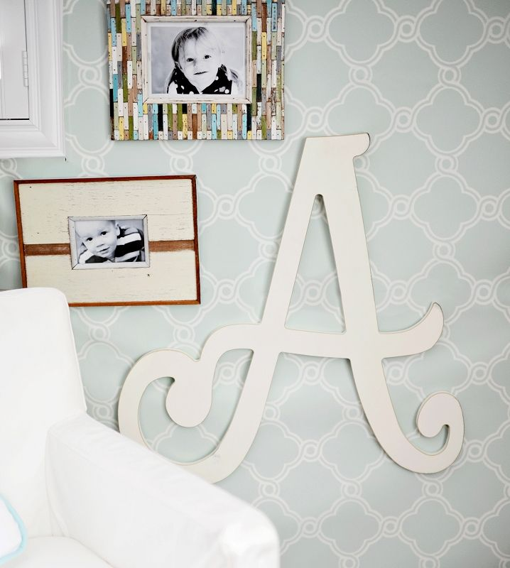 Hanging Wall Letters 60 best nursery letters images on pinterest | nursery letters