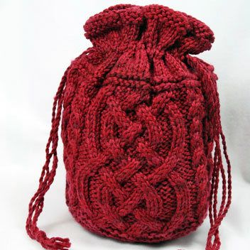 Gardiner Yarn Works Cable That Bag Pattern   Knitting and Crochet Patterns
