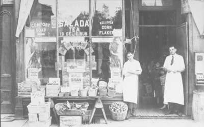 W.B. Pringle Grocery Store, ca.1922. 141 Brock St. S.