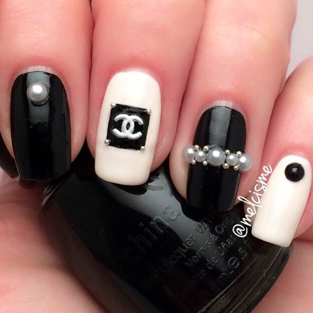 Best 25 chanel nails design ideas on pinterest chanel nail art chanel nailsdorothy johnson prinsesfo Image collections