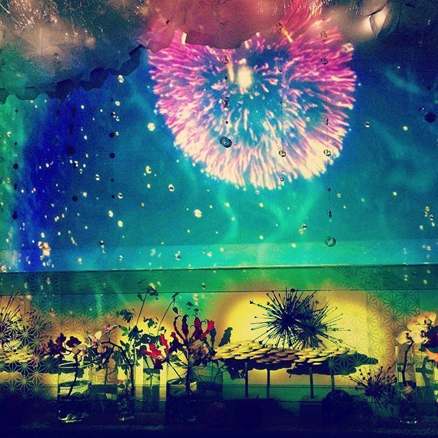 【yucco_recrea】さんのInstagramをピンしています。 《. 花火picのつづき〰️〰️〰️ #アクアパーク品川  #花火アクアリウム #プロジェクションマッピング #都市型エンターテイメント .  #品川#アクアリウム#aquarium  #aqua#naked#テーマパーク #水族館#japan #tokyo #品川プリンスホテル#お出かけ #遠足#感動#驚き#color#花火#hanabi #photographer #photo#水#光#音#映像#和モダン#modern#花》