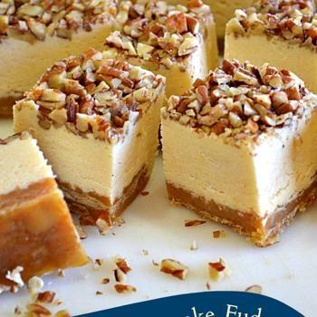 Pecan Pie Cheesecake Fudge, yum, yum;))