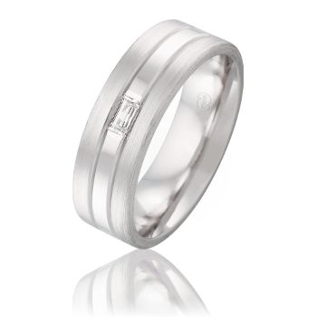 Mens Collection - #PeterWBeck - #Wedding rings FR3677 #BaguetteDiamond #AustralianMade
