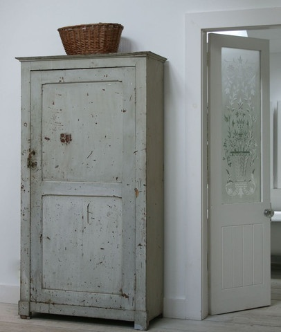 old gray cupboard