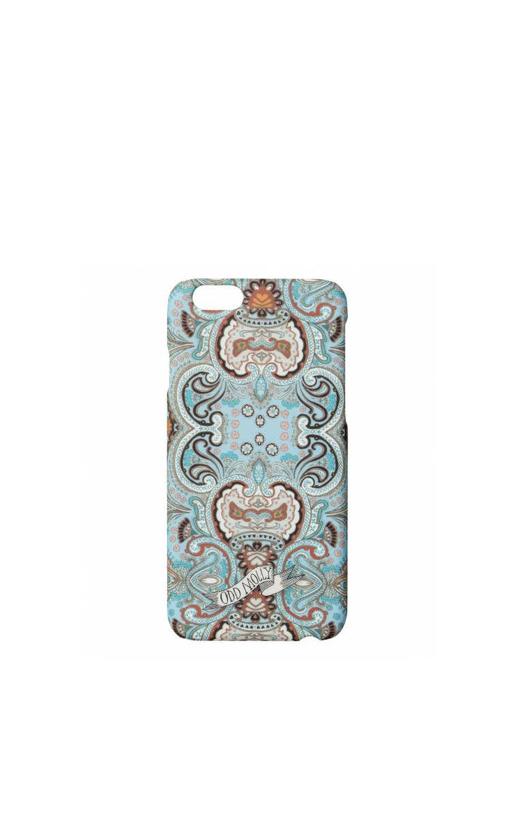 Phone Case - iPhone 6 Cover Up LIGHT TURQUOISE - Odd Molly - Designers - Raglady