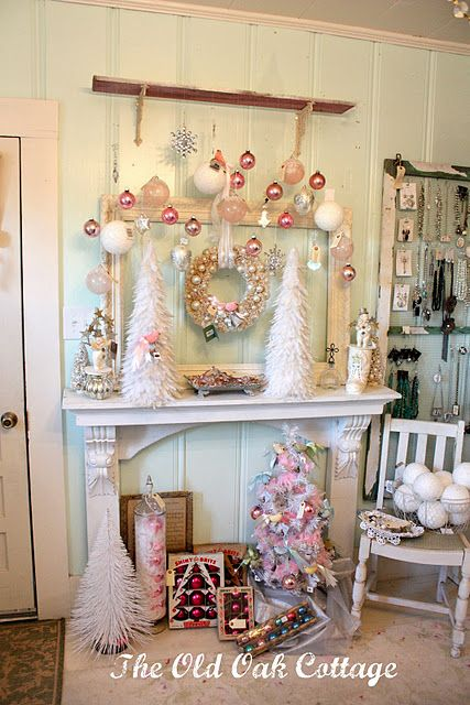 1000 Ideas About Shabby Chic Mantle On Pinterest