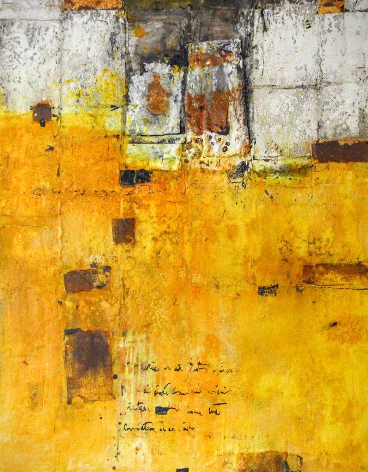 Des Nouvelles d'ailleurs, peinture de Mehdi Bourkia