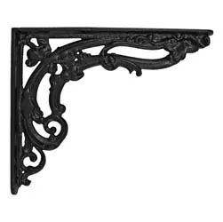 honeycombe cast iron shelf bracket