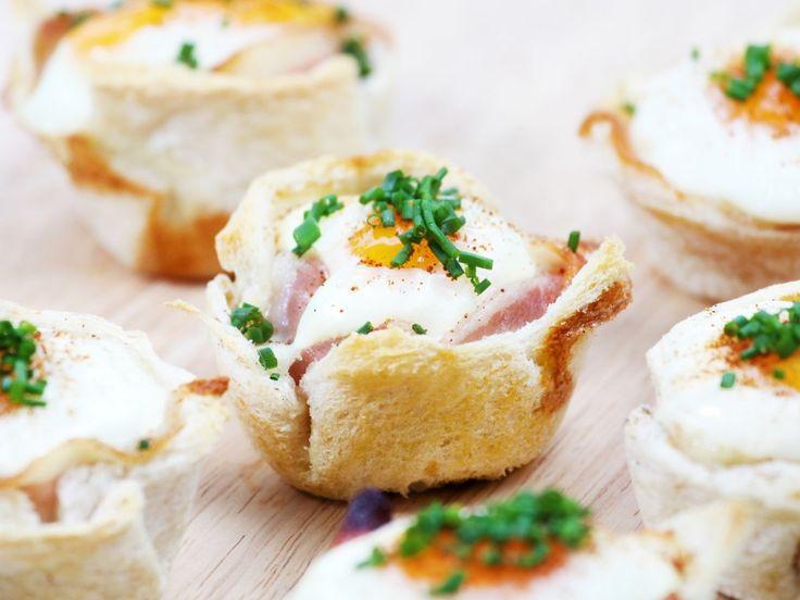 Muffins met ei en bacon - bakkenmetbas.nl