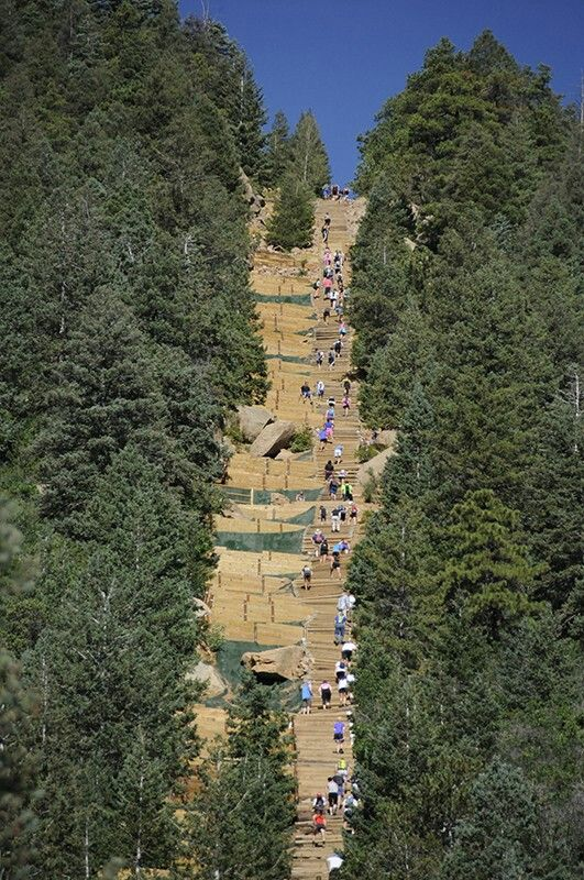 Manitou Incline = Life Goals