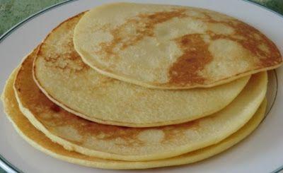 Crêpes à la farine de noix de coco sans gluten, sans lactose et sans oeuf