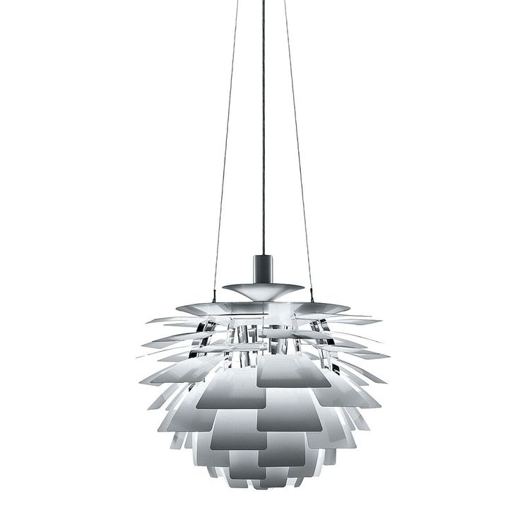 Luxury Deckenlampe aus Aluminiumlamellen gefertigt Ideal f r weite Wohnungen oder Hotels Ohne Zweifel eine Lampe