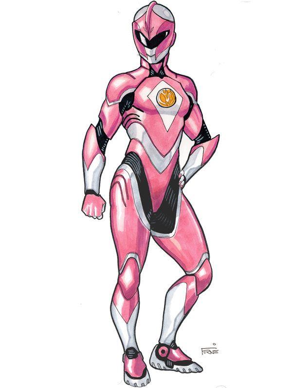 Pink Ranger Redux by DavidFernandezArt on DeviantArt
