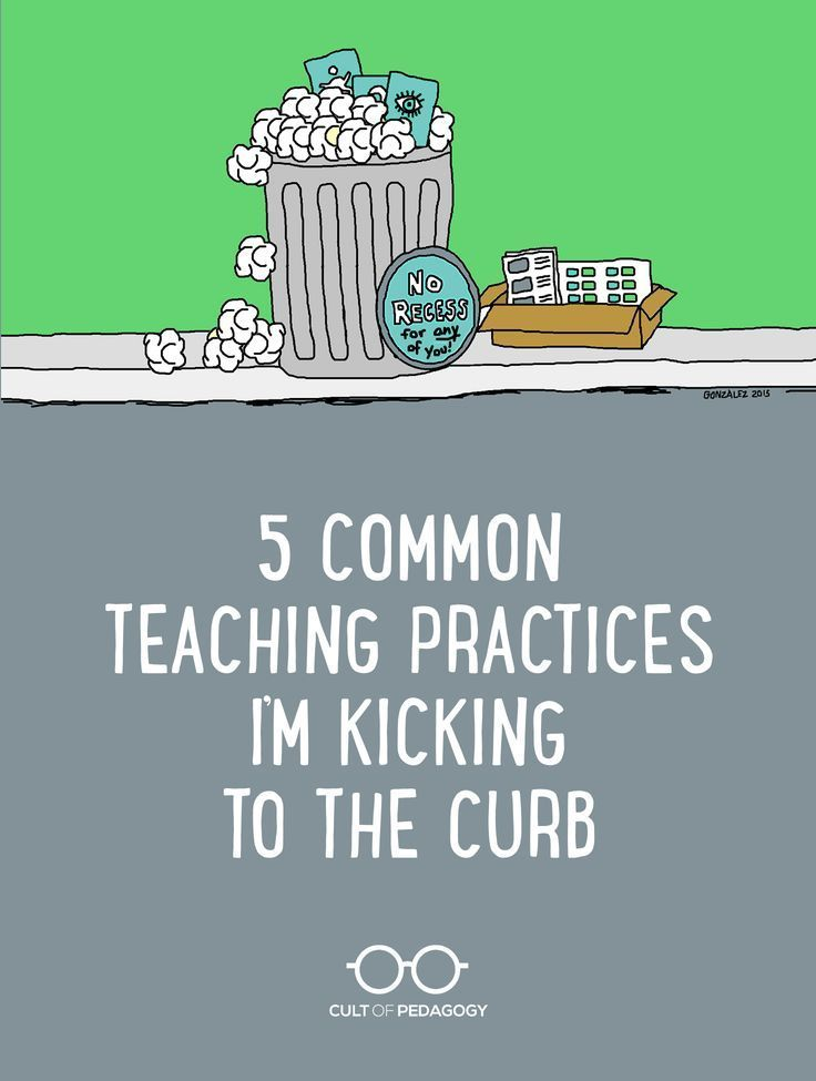 Are any of these ineffective teaching methods still part of your practice? Time to reconsider. | Cult of Pedagogy