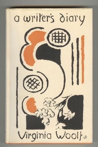 Virginia Woolf Vanessa Bell Cover A Writers Diary Notebook