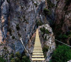 Abierta la vía ferrata en Cordiñanes, Picos de Europa | SoyRural.es