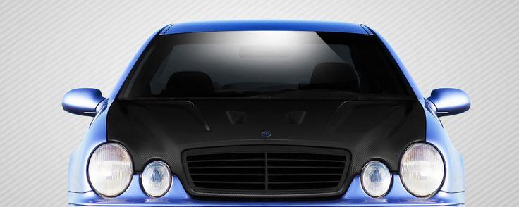 1998-2002 Mercedes CLK W208 Carbon Creations Black Series Look Hood - 1 Piece