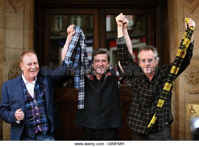Bay City Rollers reunion - Stock Image