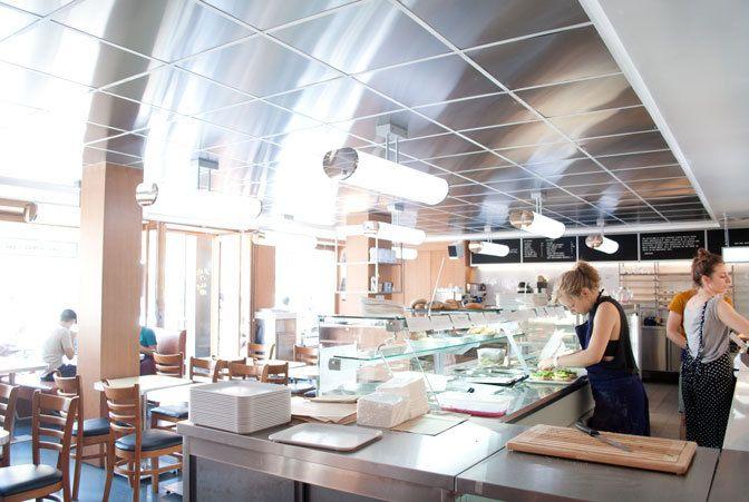 Restaurant Bob's Bake Shop, Halle Pajol, 12, esplanade Nathalie-Sarraute Paris 75018. Envie : Biocool, Salon de thé, pâtisseries, Bagels (Sandwichs...