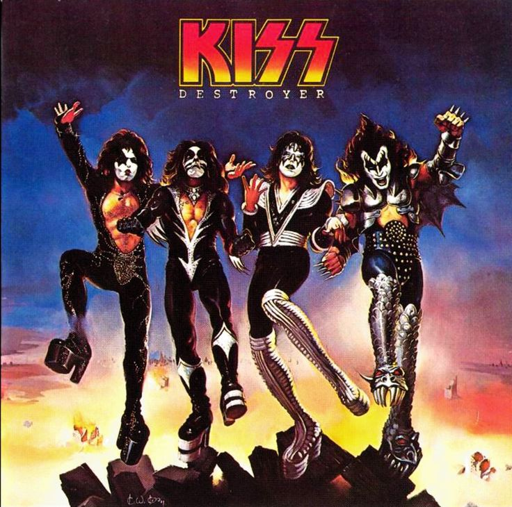 Destroyer is the fourth studio album by American rock band Kiss, released on March 15, 1976 in the US. Description from ukmix.org. I searched for this on bing.com/images