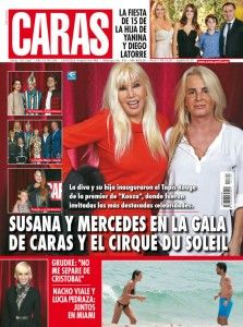Tapa Caras Argentina - abril 2016