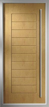 Italia Range of contemporary composite doors, Huddersfield, Yorkshire