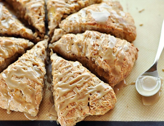 Banana Bread Scones for Breakfast! | cozy saturday morning | Pinterest