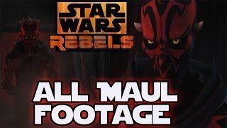 Star Wars Rebels Season 2 ALL DARTH MAUL Footage and Trailer! - Darth Maul in Star Wars Rebels. Link watch: http://vnbeat.com/watch/84UxW_8sdfg
