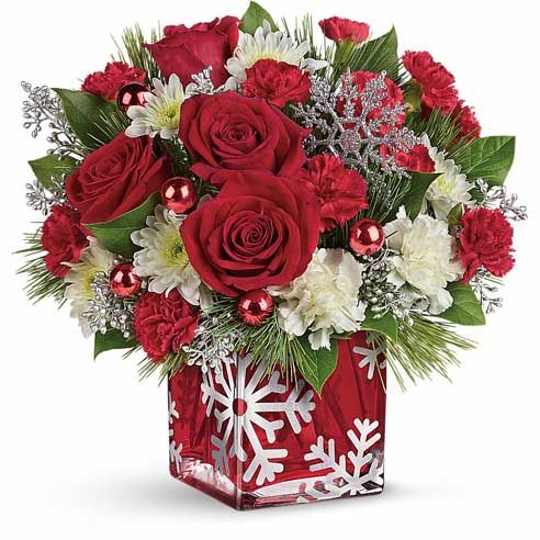 78 Best Images About Christmas Floral Arrangements For