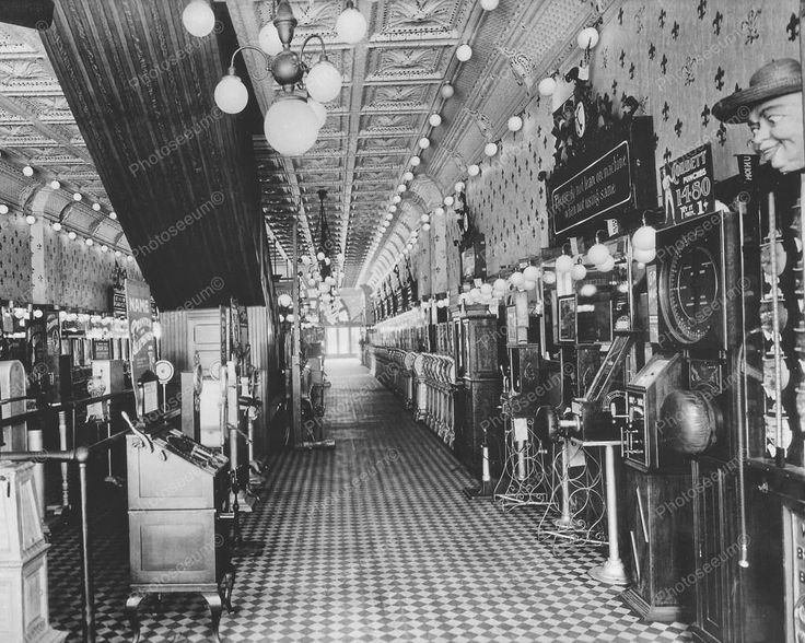 Photo Of Arcade In New York 1890s Vintage 8x10 Reprint Of Old Photo 1 Photo Of Arcade In New York 1890s Vintage 8x10 Reprint Of Old Photo 1 This is an excellent reproduction of an old photo. Reproduce