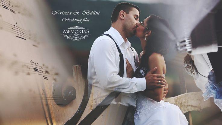 """Kriszta & Bálint Wedding film 18'09"""""""