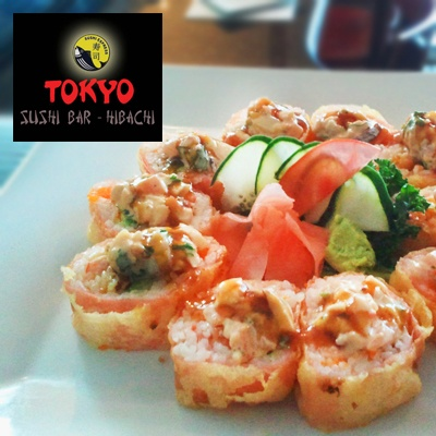 $20 for $40 to Tokyo Sushi Bar-Hibachi. Tokyo Sushi prepares some of the freshest, best tasting sushi in Fort Lauderdale. They pride themselves on their elite service and excellent cuisine, which includes hibachi and sushi. Start you meal with an appetizer like ceviche trio and tuna tataki, sample a few of their specialty rolls such as the sky roll which includes tempura shrimp, crab salad, masago, cream cheese, topped with avocado, spicy mayo, eel sauce and Japanese crunch! Tr...