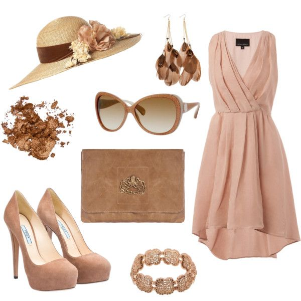 Kentucky Derby style, created by lindsay-merritt on Polyvore