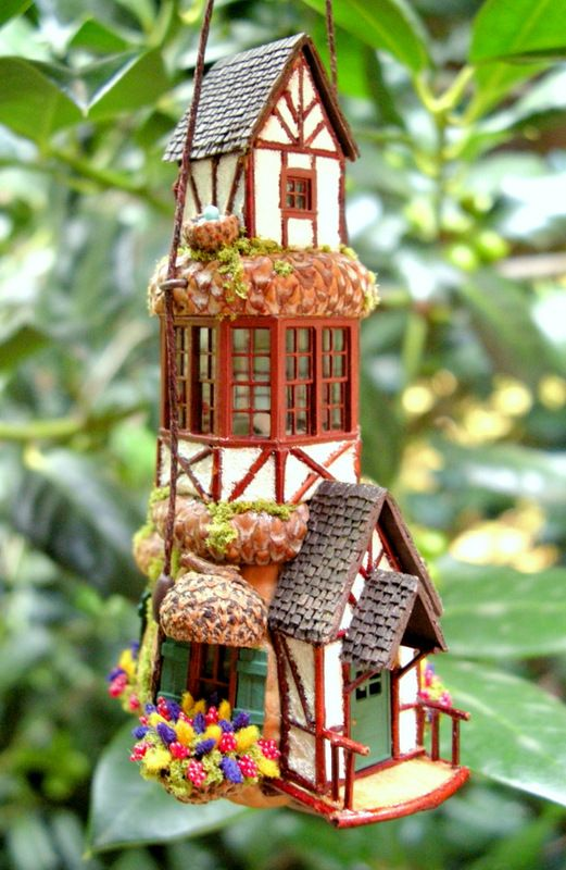 unbelievable bird house designs. The Egg s Nest  Nutshell Cottage Fairy house 858 best Really Cool Birdhouses images on Pinterest