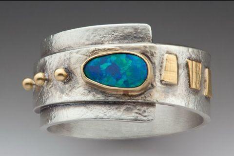 Linda Lewis Jewelry - Opal Ring ($250)