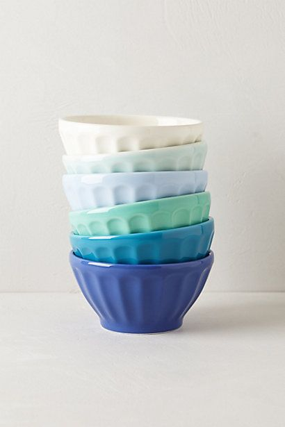 Latte Bowls #anthropologie Love the ones in photo or the orange set@