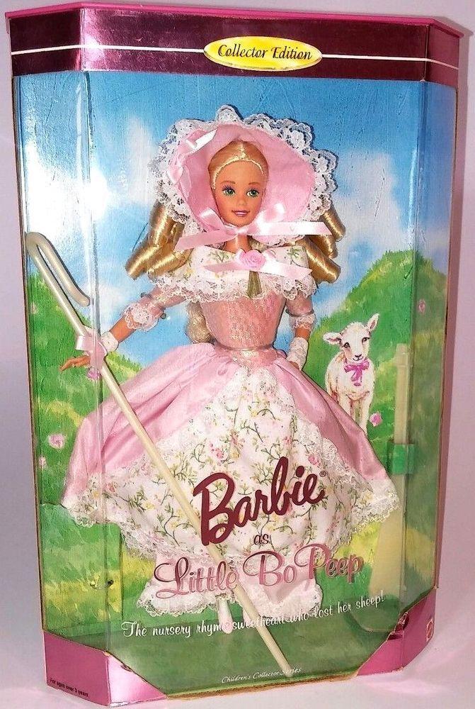 "NRFB - NEUVE : Superbe Barbie de collection ""Little Bo Peep"" Edt Collector 1995"