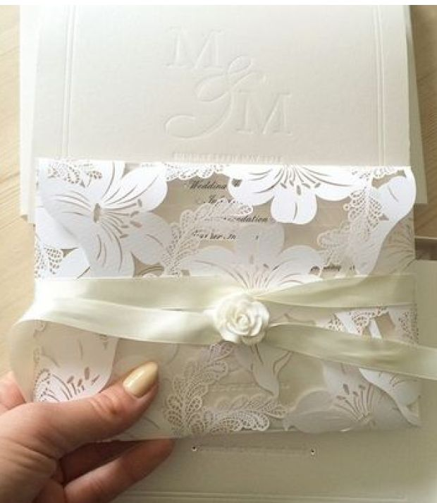 Mark Wright and Michelle Keegan's Wedding invite