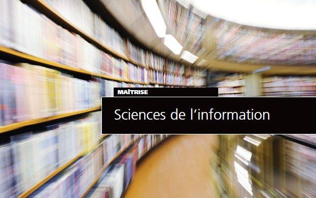 Maîtrise en sciences de l'information (M.S.I.)