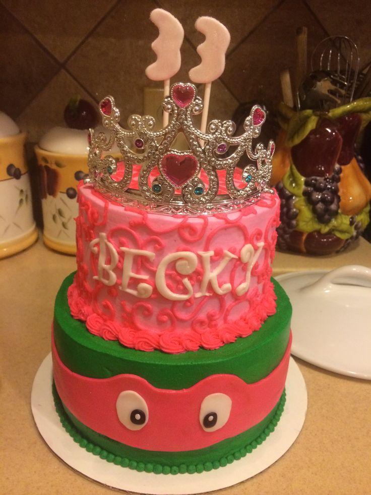 33 Year Old Women Like Ninja Turtles Too Princess Turtle Cake