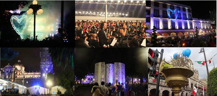 """Puebla se suma a la campaña """"Corazón Azul"""""""