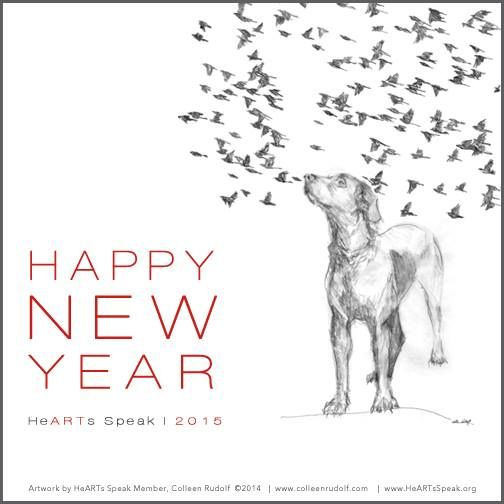 Happy 2015!  We're excited for a year full of bold ideas, grand dreams, continued teamwork, and even more homeless animals saved.