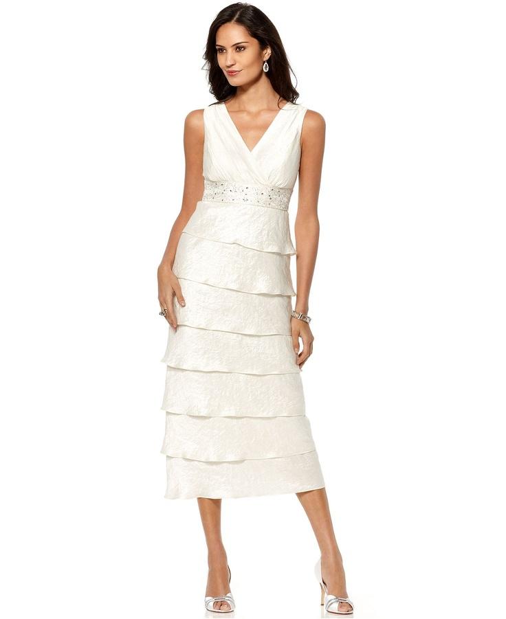 Beach wedding dresses macys trixxi juniors prom dress for Macy s dresses for weddings