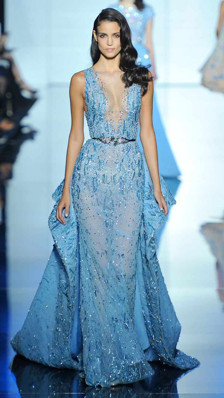 Zuhair Murad Haute Couture Spring/Summer 2015 via @stylelist | http://aol.it/1zypPZs