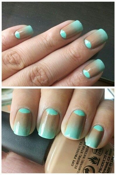 Nails  #nail #unhas #unha #nails #unhasdecoradas #nailart #gorgeous #fashion #stylish #lindo #cool #cute #fofo #mint #pastel