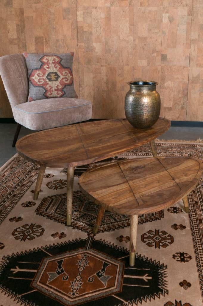 Dutchbone Sham salontafels (set van 2) - VIDA Design