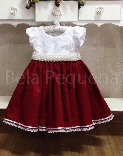 Vestido Infantil de Formatura