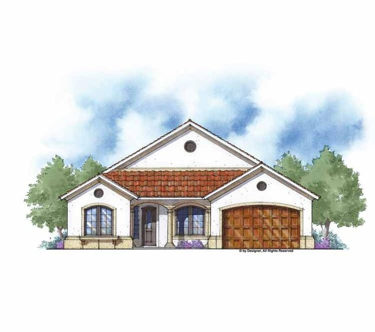 Mediterranean house plan with 2247 square feet and 3 for Www eplans com house plans